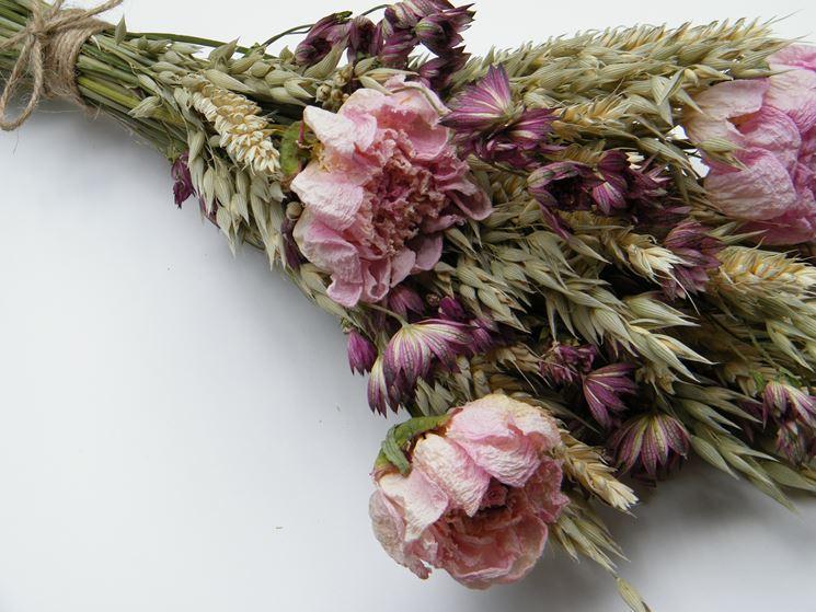 mazzo fiori secchi