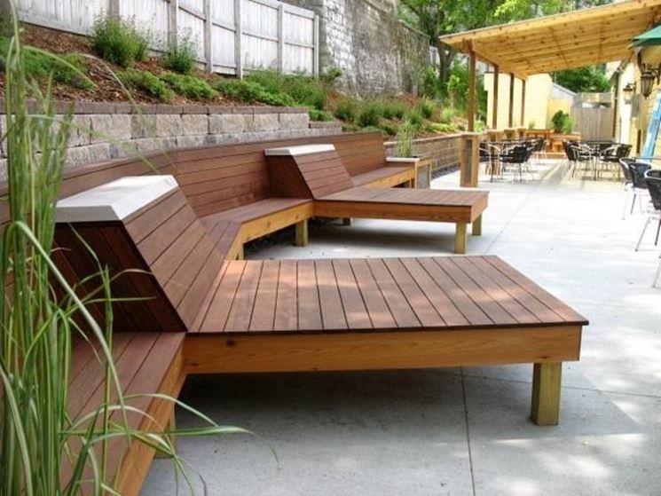 arredamento da esterno legno