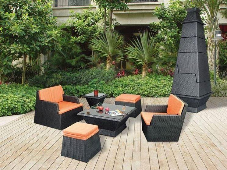 arredo esterno per giardino accessori da esterno On idee di arredo per patio esterno