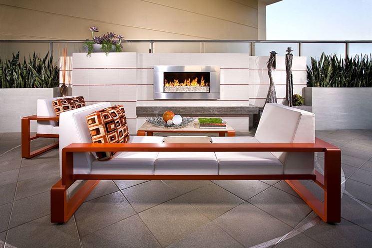 Arredo terrazzi accessori da esterno for Arredo giardino terrazzo