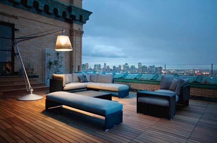 Arredo terrazzi accessori da esterno for Terrazzi arredamento da esterni
