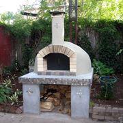 come costruire un forno a legna in mattoni refrattari