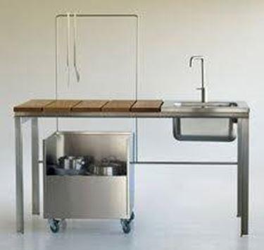 I materiali per cucine da esterno