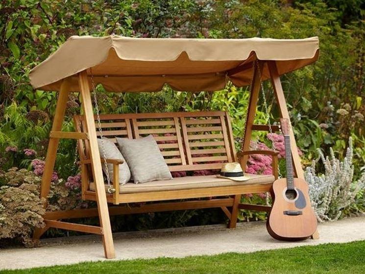 Dondolo giardino accessori da esterno for Dondolo per giardino