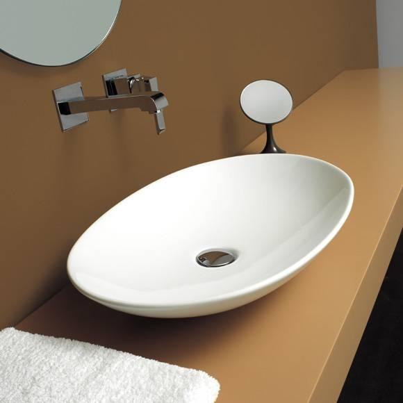 Mobili per lavabi da appoggio design casa creativa e for Mobili bagno due lavabi