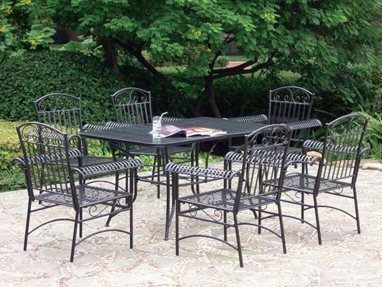 Mobili per esterno accessori da esterno - Mobili da giardino in ferro ...