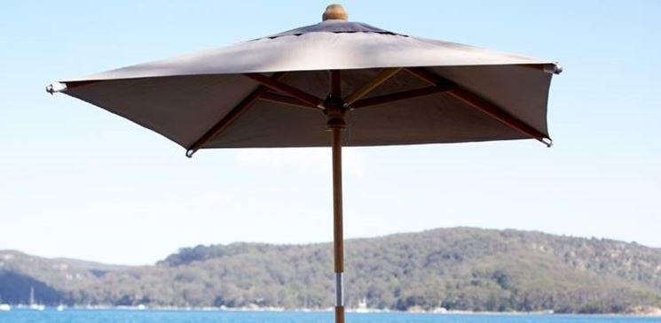 Ombrellone da giardino accessori da esterno for Leroy merlin ombrelloni