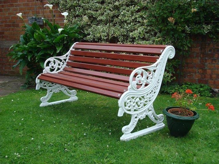 Panchine da giardino accessori da esterno for Accessori giardino