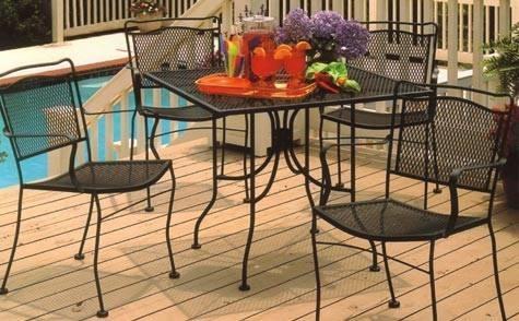 Tavoli da esterno accessori da esterno - Tavoli ferro battuto da esterno ...
