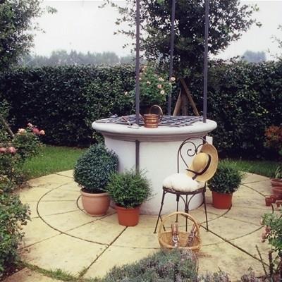 Pozzi da giardino accessori da esterno pozzi da for Pozzi finti per giardino