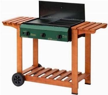 barbecue a gas