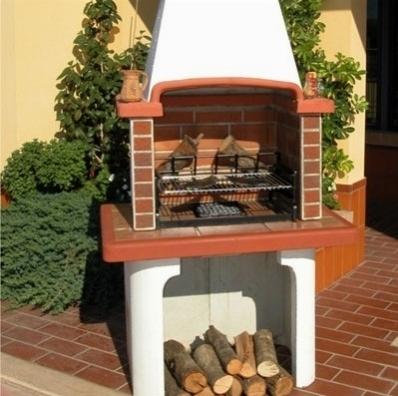 Barbecue muratura barbecue barbecue muratura barbecue for Bbq affumicatore fai da te