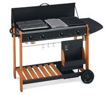 Barbecue in pietra lavica