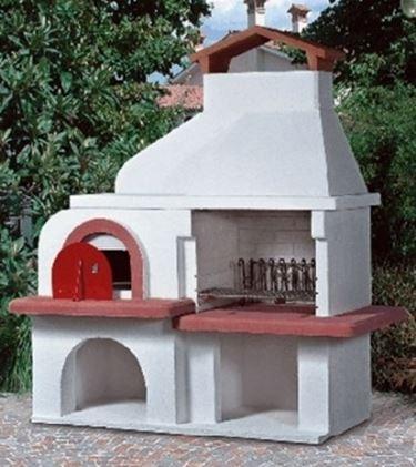 Barbecue prefabbricato barbecue barbecue prefabbricato - Forno pizza da esterno prezzi ...