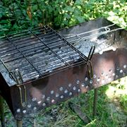 barbecue in ferro