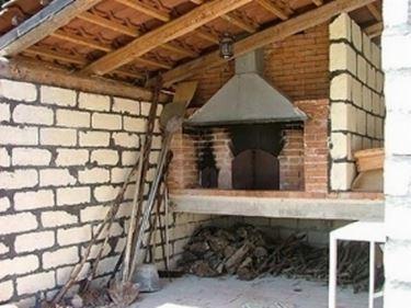 forno a legna da giardino