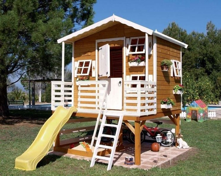 Come costruire una casa in legno casette giardino for Planimetrie per costruire una casa