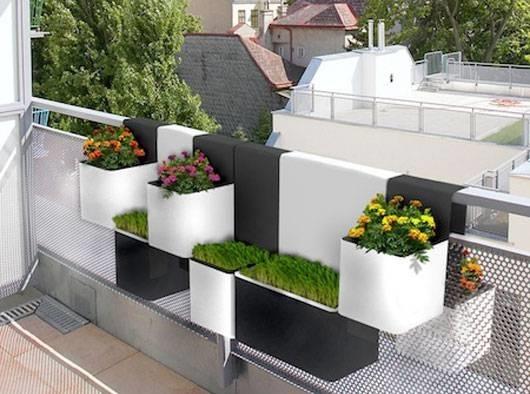 fioriere da balcone - fioriere - Portavasi Balcone