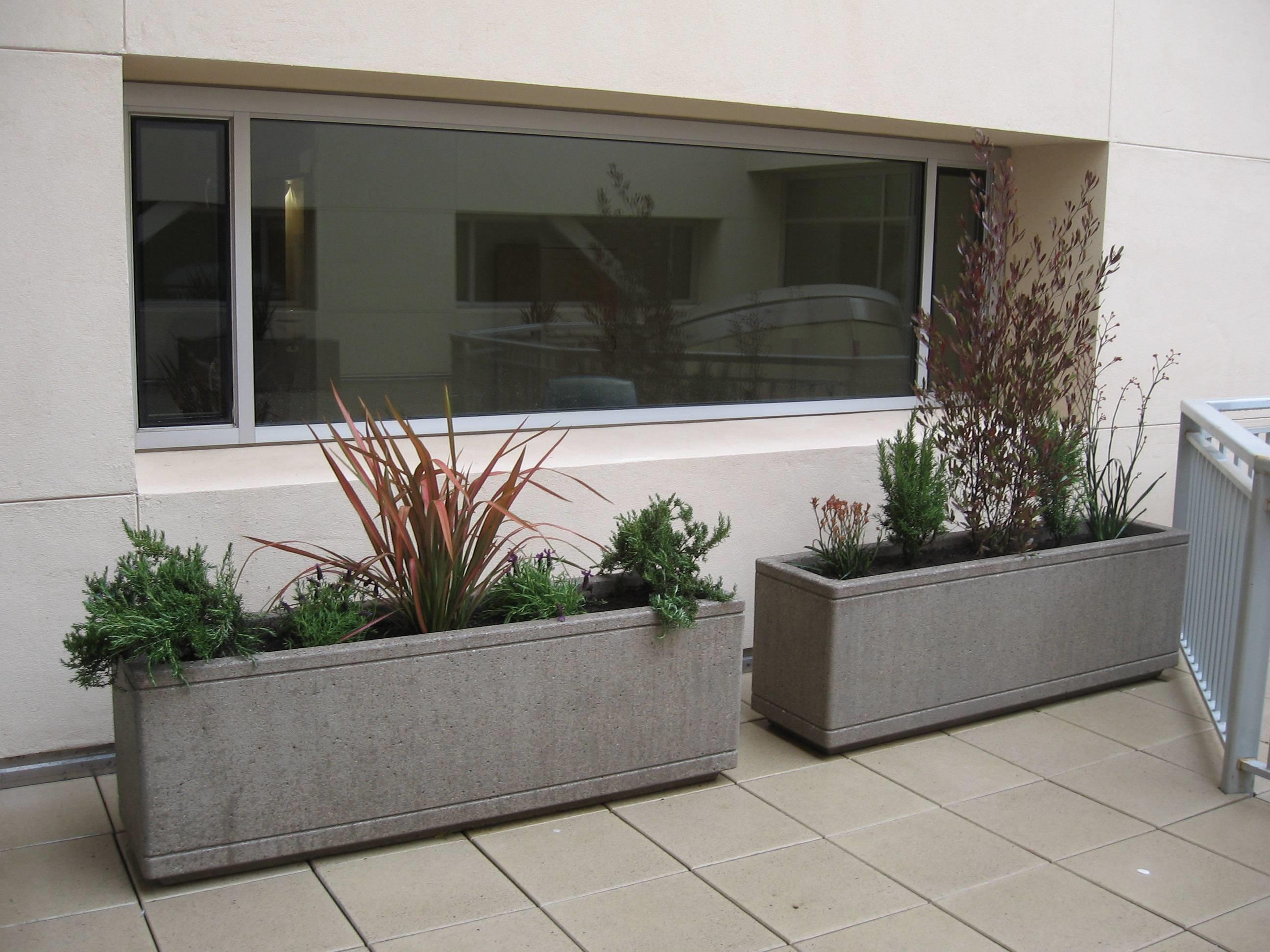Fioriere da balcone vasi e fioriere - Vasi rettangolari da esterno ...