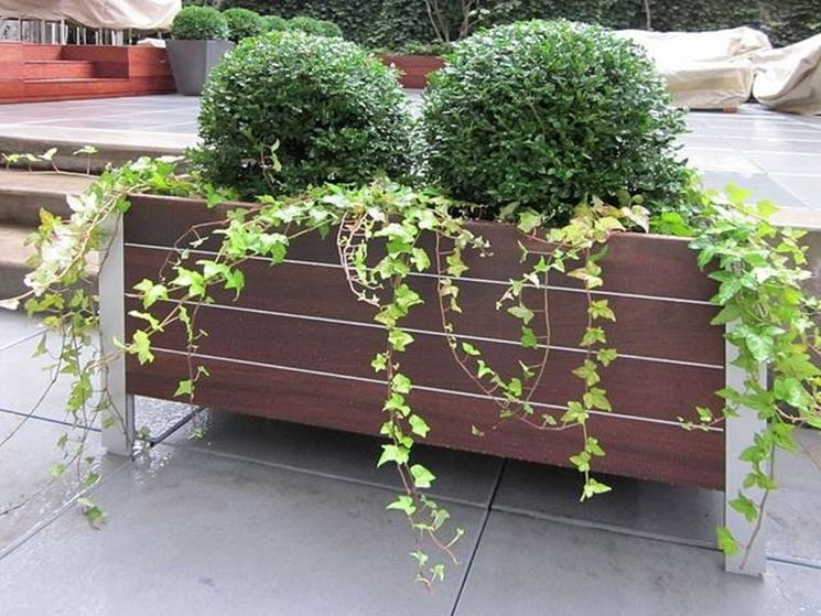 Fioriere da terrazzo fioriere for Arredo giardino terrazzo