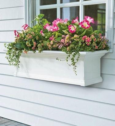 fioriera esterno legno