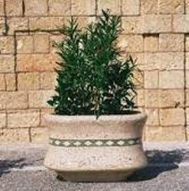 Le fioriere in cemento