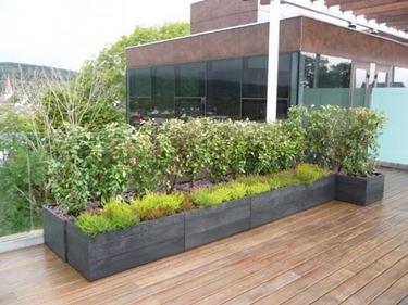 Fioriere terrazzo fioriere for Arredo giardino terrazzo