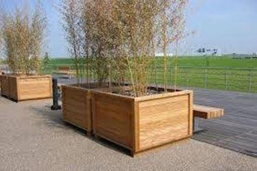 fioriere terrazzo in legno