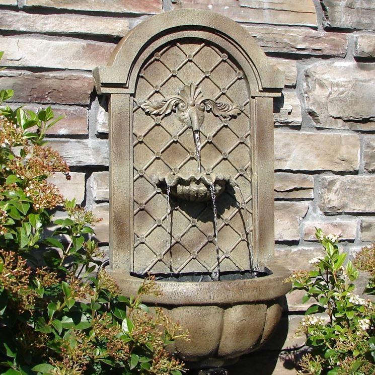 Come Costruire Una Fontana In Cemento.Fontane Per Giardino Fontane