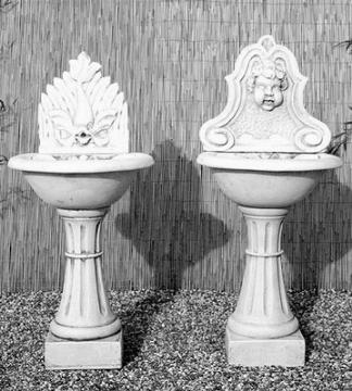 Fontane a muro fontane fontane a muro fontane - Fontane da giardino in ghisa ...