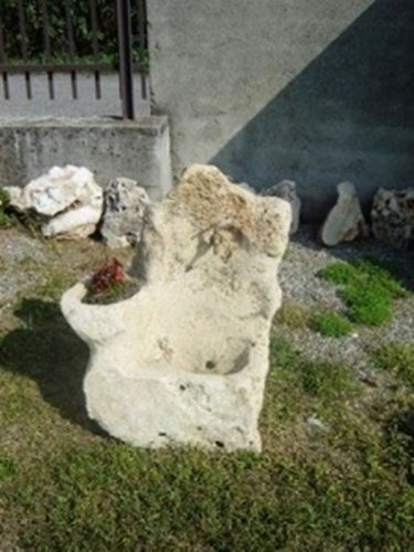 fontana in giardino