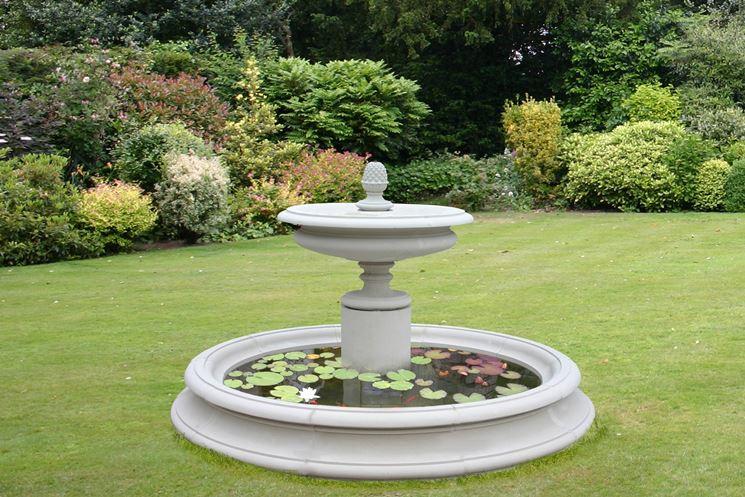 fontanella da giardino