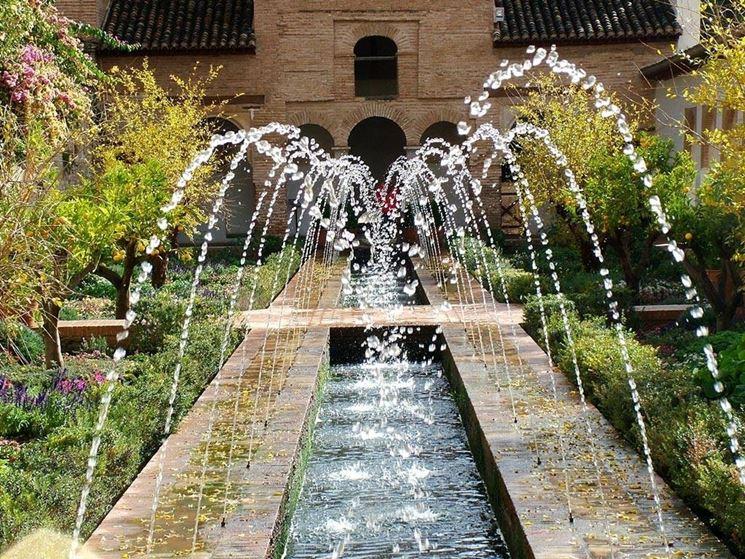 Fontanella da giardino fontane fontanella per il giardino for Jardin spanish