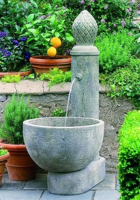 Come Costruire Una Fontana In Cemento.Fontanelle Da Giardino Fontane Fontanelle Per Il Giardino