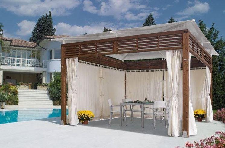 Gazebo per terrazzo gazebo for Arredamenti esterni per terrazzi