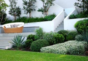 pinate in giardino
