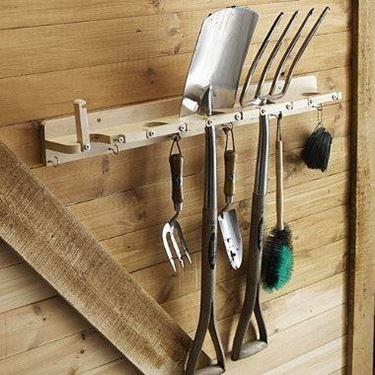 porta attrezzi legno