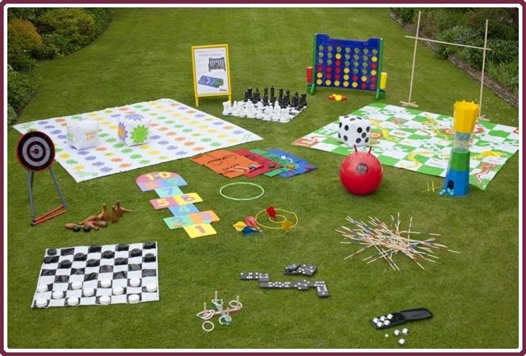 Giochi giardinaggio - Giochi giardino - Parco giochi nel giardino