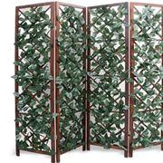 Divisori per giardini grigliati e frangivento - Grigliati in legno ikea ...