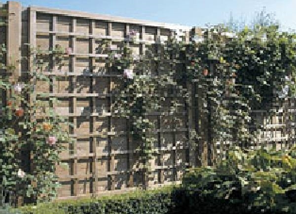 Griglie legno giardino grigliati e frangivento for Divisori da giardino