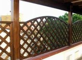 Grigliati in legno grigliati e frangivento grigliati for Bricoman arredo giardino