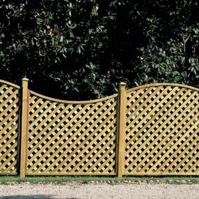 Grigliati per giardino grigliati e frangivento for Divisori da giardino