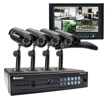 Un kit di videosorveglianza