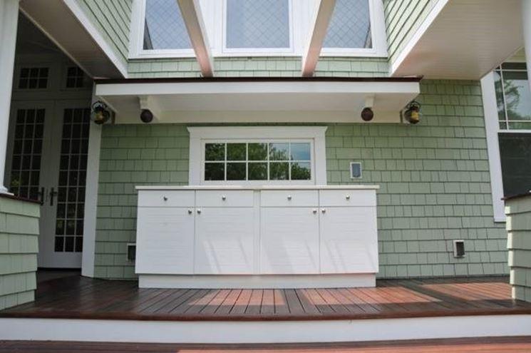 Armadi per esterno mobili da giardino for Mobili da terrazzo in legno