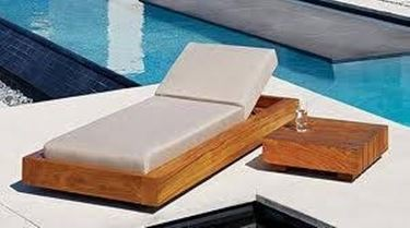 arredamento per esterni in legno