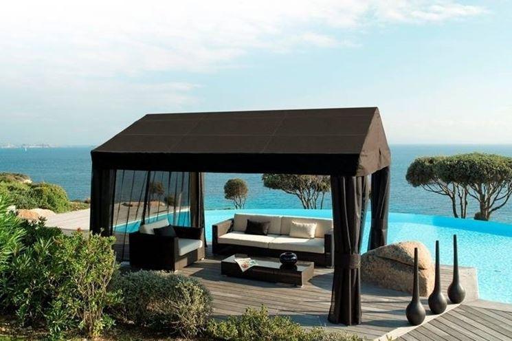 Arredamento moderno mobili da giardino for Arredo giardino moderno
