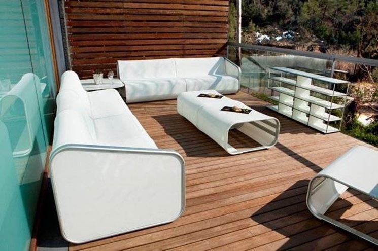 Arredamento per esterni mobili da giardino for Arredo da giardino in alluminio