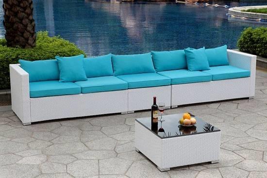 Arredamento per esterno mobili da giardino for Arredo giardino salotti