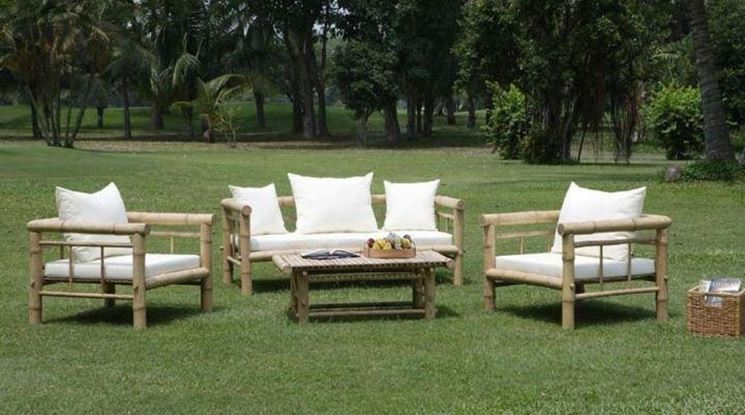 Divani da giardino mobili da giardino for Sofa exterior leroy