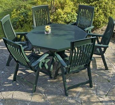 mobili da giardino in plastica